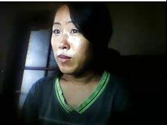 دختر سیکسی فیلم سیکسی چینی, چشمک می زند, وقتی که شوهر دور است
